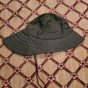 Barbour Waxed Cotton Rain Hat